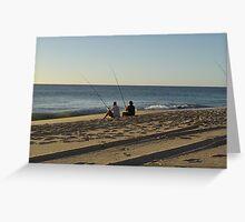 fishing mates Greeting Card