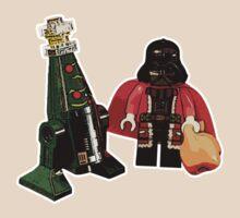Santa Vader and a Droid Tree! by Elizabeth Fahlman