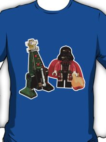 Santa Vader and a Droid Tree! T-Shirt