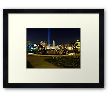 J.C. Nichols Fountain KCMO Framed Print