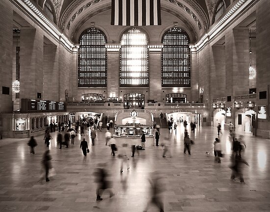 Grand Central, 7 am by James Howe