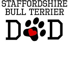 Staffordshire Bull Terrier Dad by kwg2200