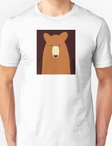 CINNAMON BEAR PORTRAIT T-Shirt