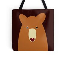 CINNAMON BEAR PORTRAIT Tote Bag