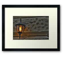 Orange Light Framed Print