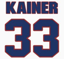 National baseball player Don Kainer jersey 33 by imsport