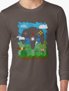 N64 LAND - CONTROLLER Long Sleeve T-Shirt