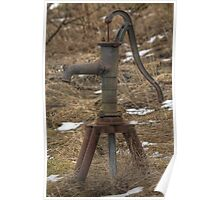 Old Water-pump Poster