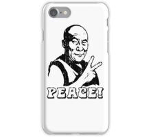 Dalai Lama Peace Sign T-Shirt iPhone Case/Skin