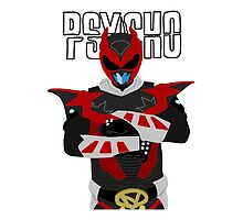 Psycho Ranger - Power Rangers in Space Pillow by simplepete