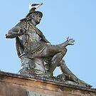 Pigeon on Mercury by ElsT