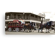 Colonial Brewing Co - Parade Canvas Print