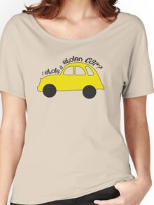Neal & Emma (Swanfire) - I stole a stolen car? (Once Upon A time) Women's Relaxed Fit T-Shirt