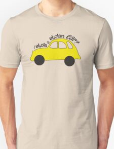 Neal & Emma (Swanfire) - I stole a stolen car? (Once Upon A time) T-Shirt