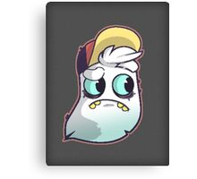Bup the ghost! [prints & things] Canvas Print