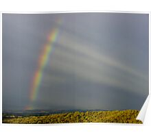 Rainbow Spokes. Poster