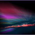 Snowfence Borealis by Wayne King