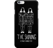 Stanley Kubrick's The Shining Twins! iPhone Case/Skin