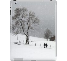 Snowy Walk iPad Case/Skin