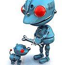 Robot's best friend by johnnyz