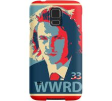 What would Riggins do? Samsung Galaxy Case/Skin