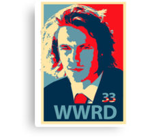 What would Riggins do? Canvas Print