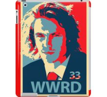 What would Riggins do? iPad Case/Skin