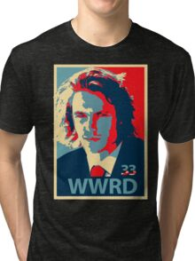 What would Riggins do? Tri-blend T-Shirt