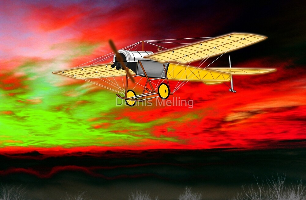 Blackburn Monoplane 1912 by Dennis Melling