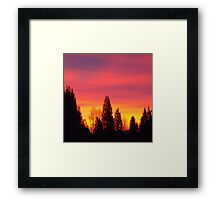 The Best Sunrise Picture Framed Print