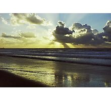 Scheveningen Sunset Photographic Print