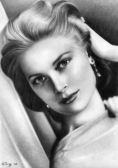 Grace Kelly by Louisa Tracey