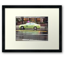 Transportation in NewYork City Framed Print