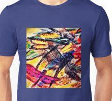 Vibrant Dragonfly Unisex T-Shirt