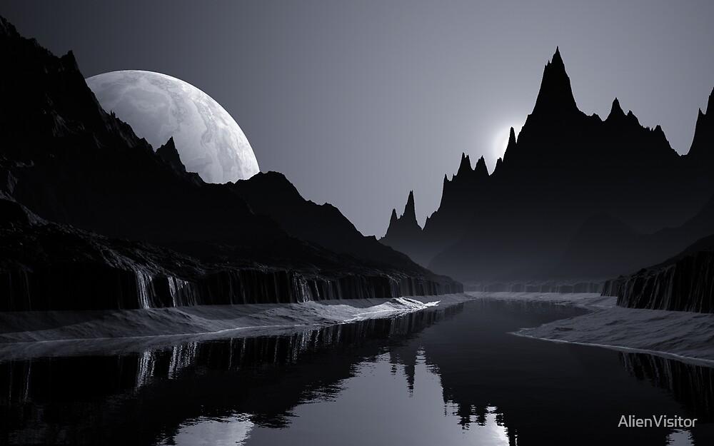 Strange Peaks by AlienVisitor