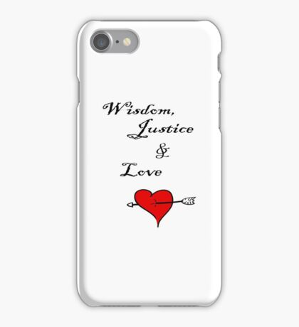 White Iphone cases with graphic  iPhone Case/Skin