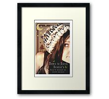 Down to Earth Beanie's Framed Print