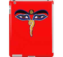 Buddha Eyes Symbol iPad Case/Skin