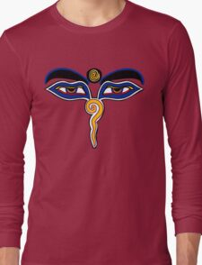 Buddha Eyes Symbol Long Sleeve T-Shirt