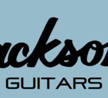 Jackson Black Blue  Sticker