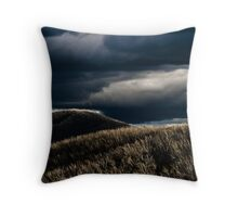 Brown forest Throw Pillow