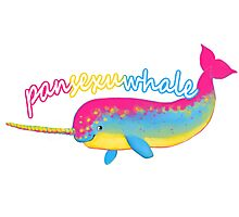 Pansexuwhale Photographic Print