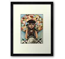 Flying Machine Framed Print