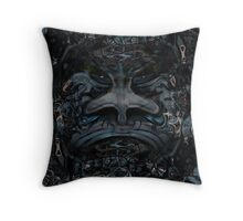 Loathing Throw Pillow