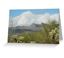 Clouds in the Desert Greeting Card