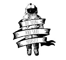 Brand New Deja Entendu astronaut Photographic Print