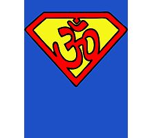 Super Om Symbol Photographic Print