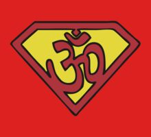 Super Om Symbol Kids Clothes
