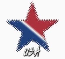 USA Flag Star T-Shirt