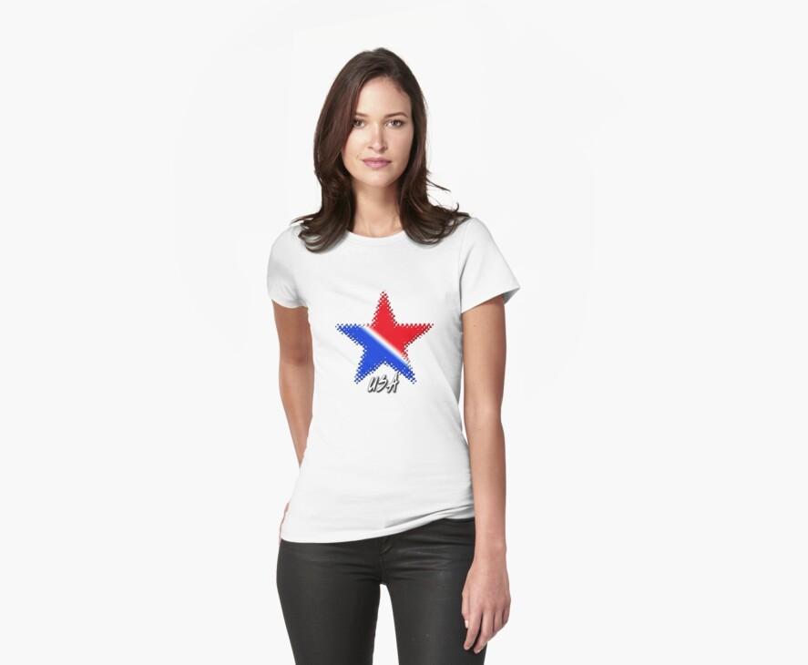 USA Flag Star by Ryan Houston